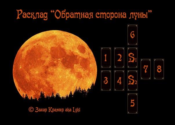 "Расклад - ""Обратная сторона луны""  © Захар Крамер aka Loki  Автор Loki PoWrnnNjSKY"