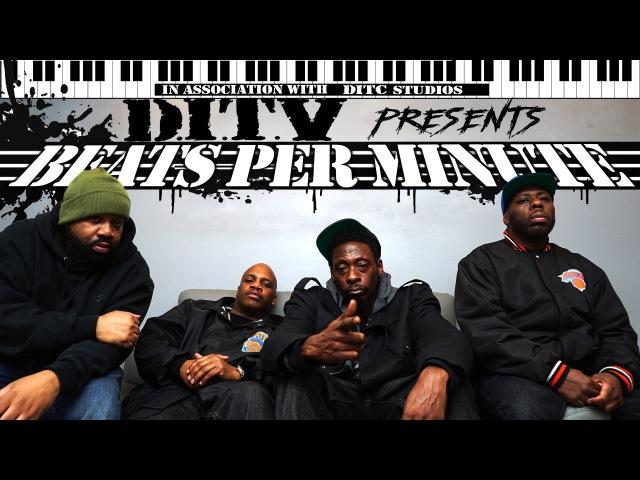 DITC STUDIOS presents BEATS PER MINUTE featuring PETE ROCK pt 1