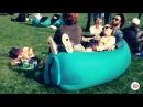 Надувной шезлонг  lamzac hangout (Ламзак Хенгаут). Релакс мешок, кресло лежак