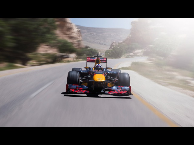 David Coulthard and The Team take an adventure in Jordan