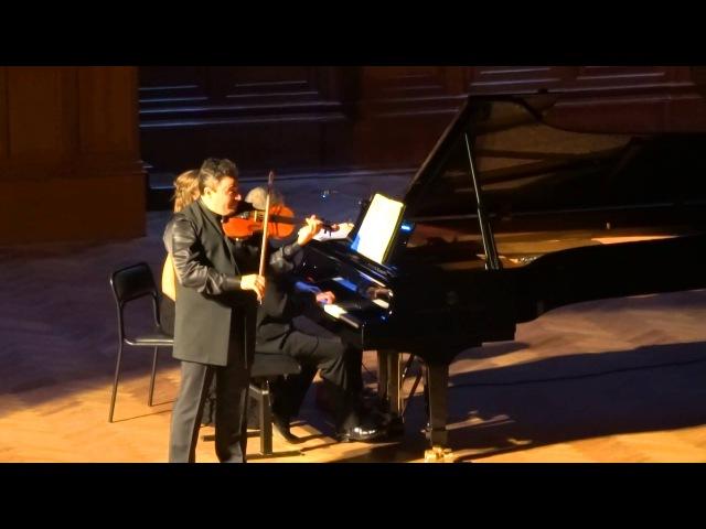 Dvorák 8 Slavonic Dances Op 72 B 147 No 2 Максим Венгеров скрипка Итамар Голан фортепиано