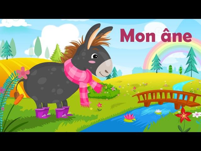 Mon âne (comptine à gestes avec paroles)