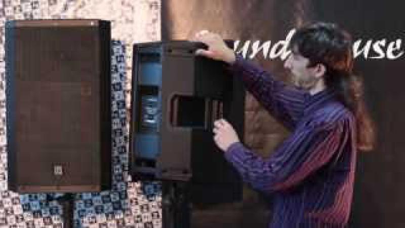 Акустическая система ZLX 12 и ZLX 15P UnPack Video