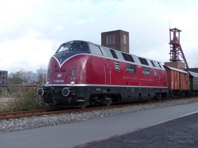 Bundesbahn und Reichsbahn im Ruhrgebiet V200 und 01.5