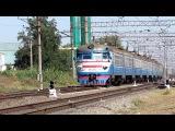 Железная дорога - Электропоезд ЭР1-206, пригородный поезд № 6547/6548 (3 октября 2015 г.)