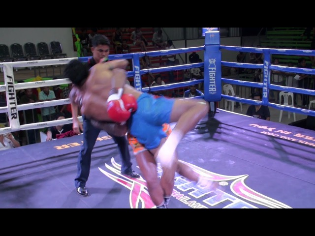 Kunchan (Tiger Muay Thai) vs Petpaya Por Sakda @ Rawai Stadium 6/8/16