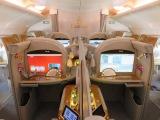 Emirates A380 First Class Dubai to Amsterdam (+ lounge) a trip report