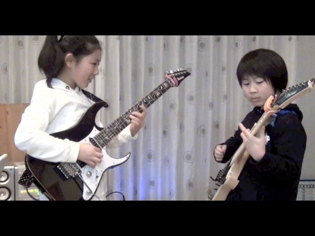 Polyphia Crush cover / Li-sa-X (Japanese 11year old girl)