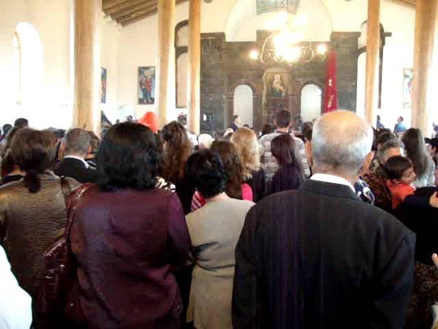 Служение в церкви с/Мргашат,Mrgashati ekegheci