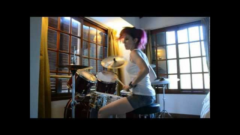 Suicide Silence You Only Live Once Drum Cover (by Nea Batera)