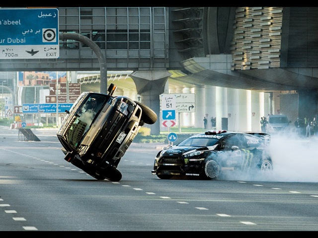Ken Blocks Ultimate Exotic Playground in Dubai | Gymkhana | Ford Performance