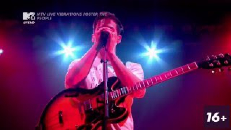 Foster The People - Coming Of Age @ MTV LIVE VIBRATIONS