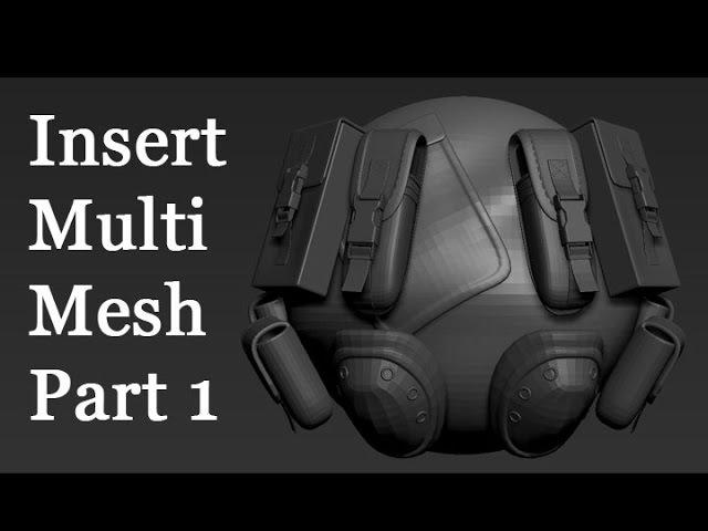 Zbrush - Insert Multi Mesh(IMM) - Part 1