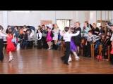выступление сына Романа на фестивале спортивного танца