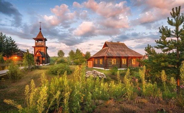 Церковь Феодора Стратилата, д.Мартюхи, Смоленская обл.