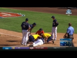 Brewers OF Rymer Liriano Taken To Hospital After Fastball To The Face