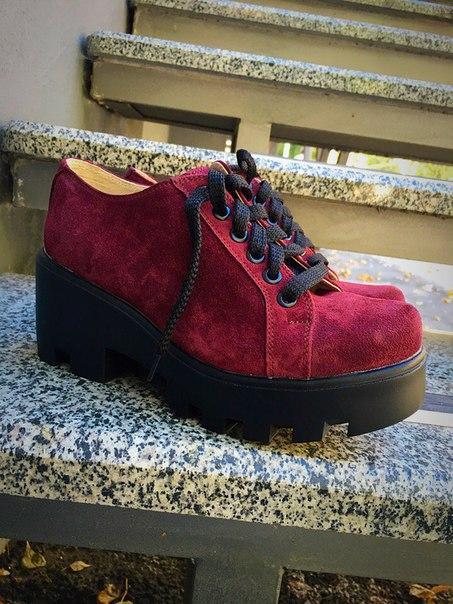 Невероятно стильная обувь на толстом каблуке 😎 Хочешь такие!?