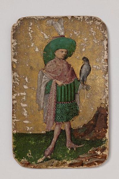 Средневековые игральные карты. Германия, 1430 год.