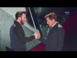 Robert Downey Jr & Chris Evans at Nickelodeon Kids Choice Awards 2016