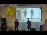 Егорка и Серега поют на выпускном. 25.06.16