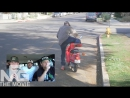 Заминированный мопед! ПРАНК КОНЧИЛСЯ НОКАУТОМ /TWINZTV/ (небольшой отрывок из фильма)