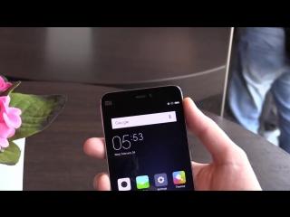 Hands видео обзор Xiaomi Mi5