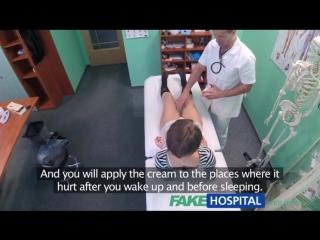 Short haired hottie seduces doctor / FakeHospital / Fake Hospital / Фальшивый госпиталь