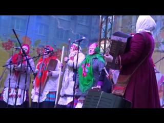 13 марта 2016 г. празднование Масленицы в г. Василькове