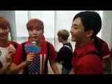 160716 MBC 쇼 음악중심 Official Periscope 세븐틴(SEVENTEEN) - 대기실 Live by 로즈베이