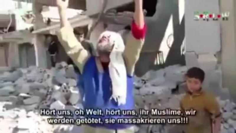 Zivilisten in Syrien und Palästina werden unaufhörlich bombardiert