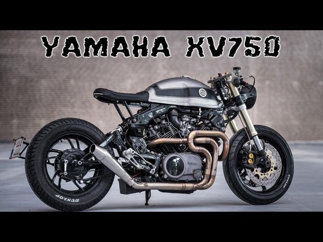 Yamaha Virago xv750 cafe racer
