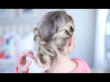 Twist Back Messy Bun | Cute Girls Hairstyles