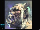 China Digital Painting - Painting Texture convey - Artist Wei Feng - Part 2-3