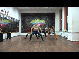 Ksenia Motion Reggaeton Team. Nataly Sirenko choreo