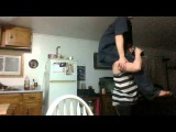 Easter Fun Wife shoulder carry dance