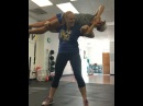 """Olivia Grace Hicks on Instagram: """"Took a break from benching to squat @laurynnicolette I even broke parallel 💪🏻🍑 powerlifting girlswhopowerlift powerliftingchicks…"""""""