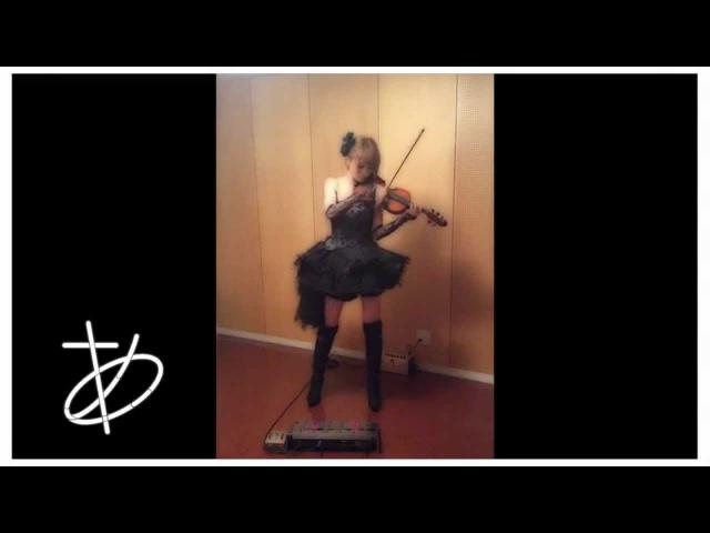 """【ヲタリスト Ayasa】バイオリンで""""進撃の巨人""""「紅蓮の弓矢」を弾いてみ12383"""