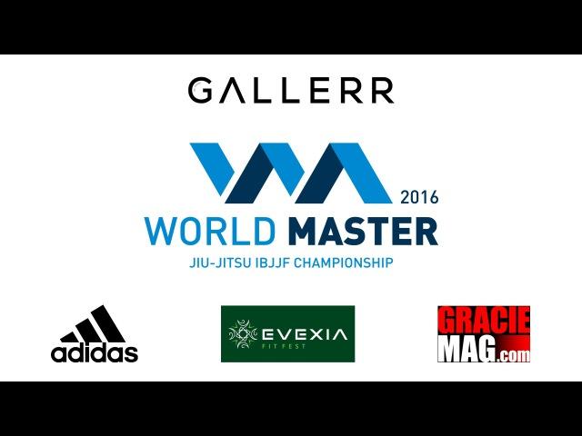 Romero Jacaré Cavalcanti and Fabio Gurgel BJJ seminar at World Master 2016