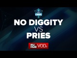 No Diggity vs PRIES, ESL Frankfurt Quali, Game 1