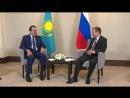 ВИДЕО: РФ Үкіметінің Төрағасы Д. А. Медведевпен кездесуде. Кенесары хан мен Кейкі батырдың бастарын қайтару мәселесі көтерілді.