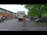 Lenja Nude in Public 3