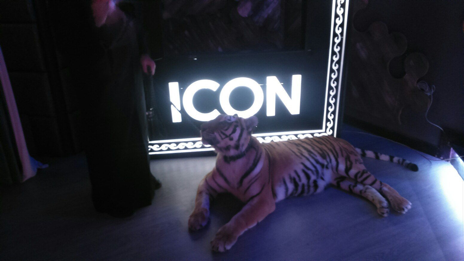 Вход в клуб ICON
