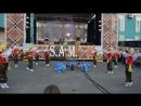 Настин дебют в танце Пираты на День Города