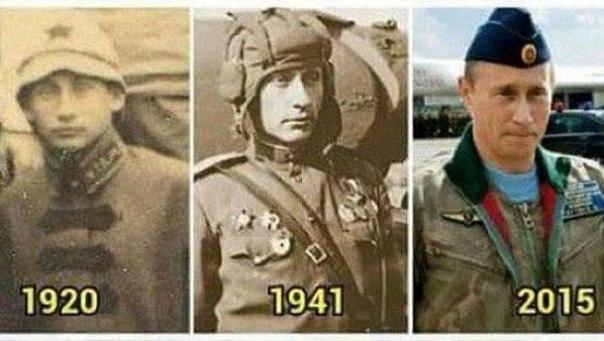 Конспирологи заявили, что Путин бессмертен или в России изобрели машину времени