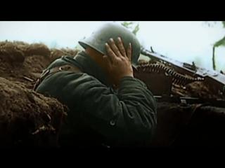 Видео-кадры из хроники второй мировой войны.          ..
