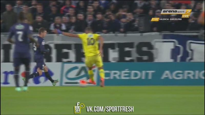 Бордо 0:1 Нант. Бамму. 6 минута
