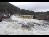 По водопадам Кольского полуострова (Мурманск)