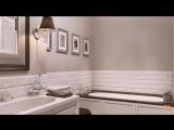 Интерьер двухкомнатной квартиры в стиле американской неоклассики