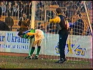 Украина - Сев. Ирландия 2:1. Отбор ЧМ-1998 (обзор матча).