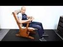 Кресло качалка маятниковая глейдер ЗНАК HD